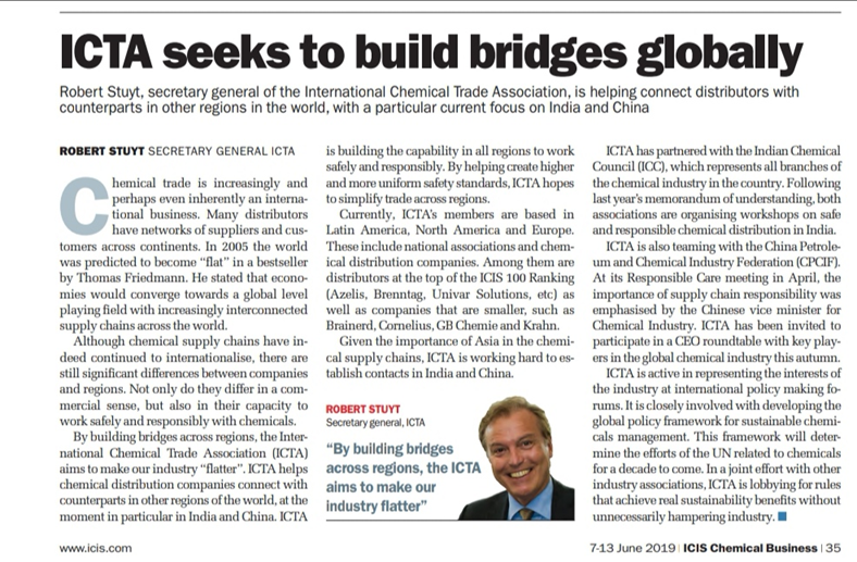 ICTA seeks to build bridges globally
