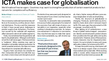 ICTA makes case for globalisation